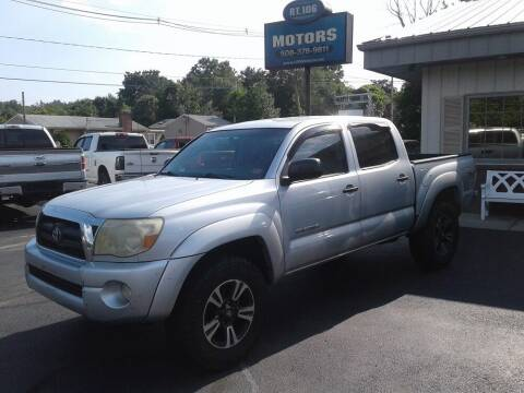 2006 Toyota Tacoma for sale at Route 106 Motors in East Bridgewater MA