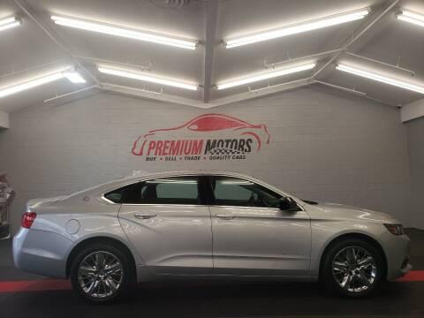 2017 Chevrolet Impala for sale at Premium Motors in Villa Park IL