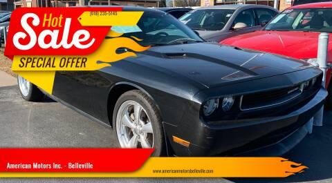 2012 Dodge Challenger for sale at American Motors Inc. - Belleville in Belleville IL