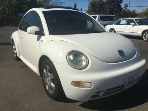 2003 Volkswagen New Beetle for sale at Dealer Finance Auto Center LLC in Sacramento CA