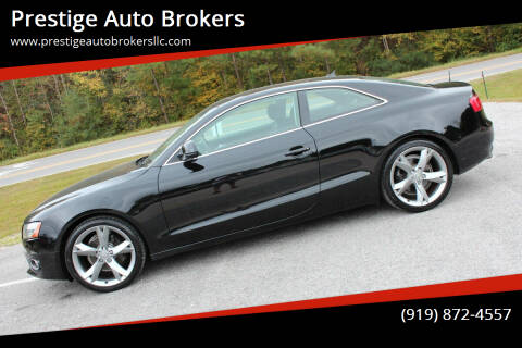 2009 Audi A5 for sale at Prestige Auto Brokers in Raleigh NC