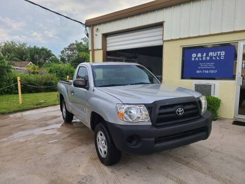 2006 Toyota Tacoma for sale at O & J Auto Sales in Royal Palm Beach FL