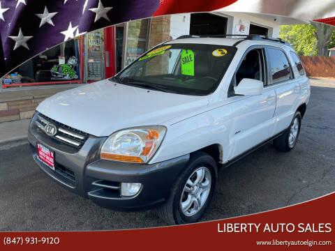2008 Kia Sportage for sale at Liberty Auto Sales in Elgin IL