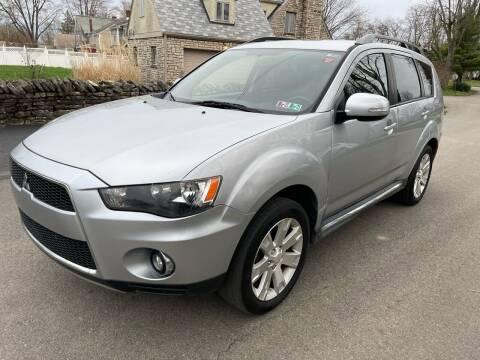 2011 Mitsubishi Outlander for sale at Via Roma Auto Sales in Columbus OH