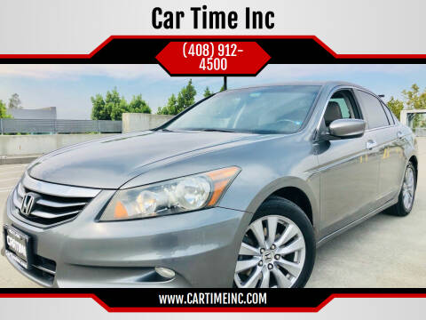 2011 Honda Accord for sale at Car Time Inc in San Jose CA