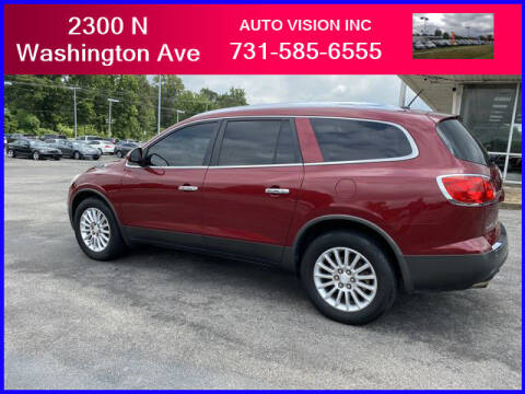 2011 Buick Enclave for sale at Auto Vision Inc. in Brownsville TN