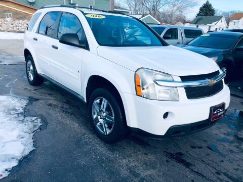 2008 Chevrolet Equinox for sale at SHEFFIELD MOTORS INC in Kenosha WI