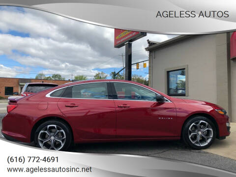 2019 Chevrolet Malibu for sale at Ageless Autos in Zeeland MI