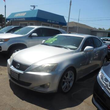 2007 Lexus IS 250 for sale at Luxor Motors Inc in Pacoima CA