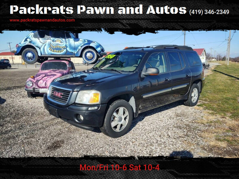 2004 GMC Envoy XL for sale at Packrats Pawn and Autos in Defiance OH