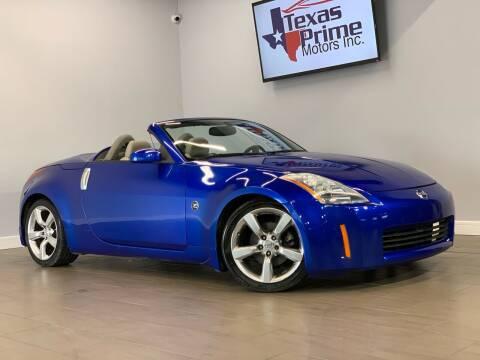 2004 Nissan 350Z for sale at Texas Prime Motors in Houston TX