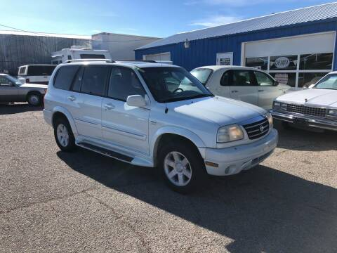 2001 Suzuki XL7 for sale at AFFORDABLY PRICED CARS LLC in Mountain Home ID