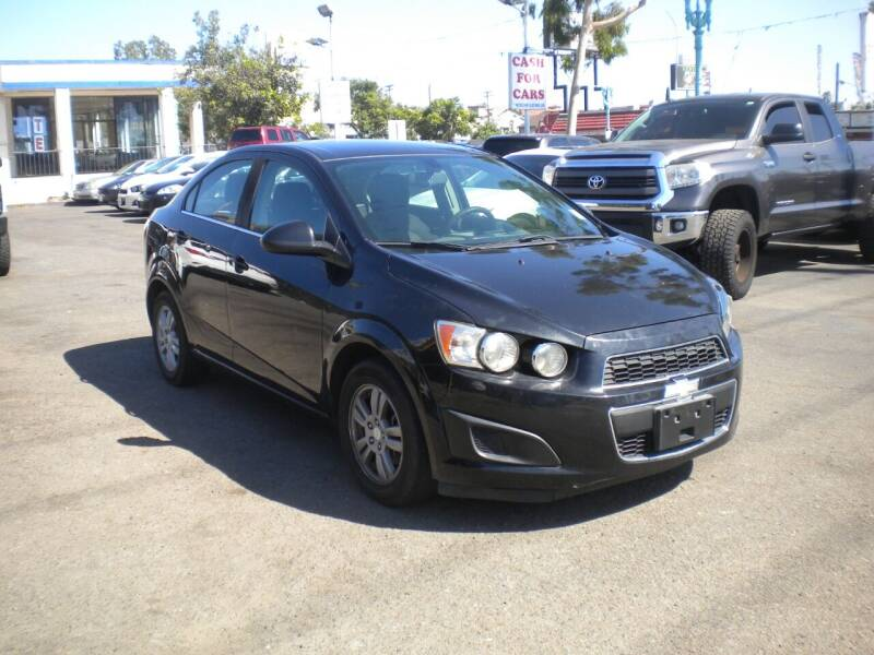 2015 Chevrolet Sonic for sale at AUTO SELLERS INC in San Diego CA