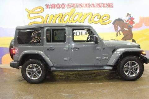 2018 Jeep Wrangler Unlimited for sale at Sundance Chevrolet in Grand Ledge MI