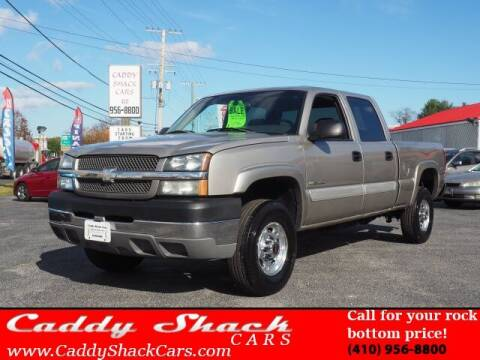2003 Chevrolet Silverado 2500HD for sale at CADDY SHACK CARS in Edgewater MD