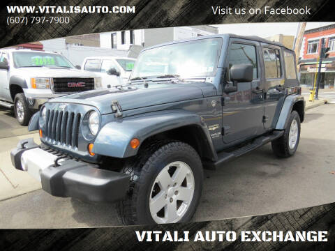 2008 Jeep Wrangler Unlimited for sale at VITALI AUTO EXCHANGE in Johnson City NY