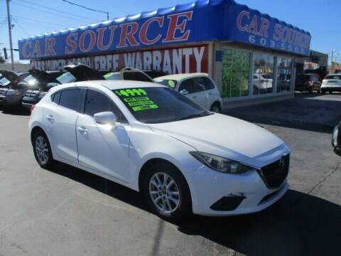 2014 Mazda MAZDA3 for sale at CAR SOURCE OKC in Oklahoma City OK