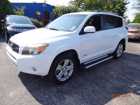 2006 Toyota RAV4 for sale at HOUSTON'S BEST AUTO SALES in Houston TX