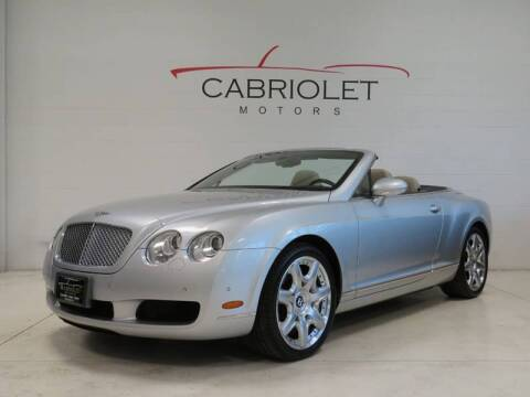 2008 Bentley Continental for sale at Cabriolet Motors in Morrisville NC