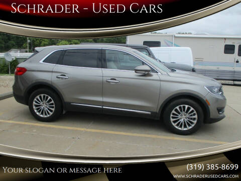 2016 Lincoln MKX for sale at Schrader - Used Cars in Mt Pleasant IA