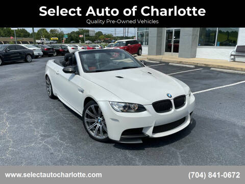 2011 BMW M3 for sale at Select Auto of Charlotte in Matthews NC