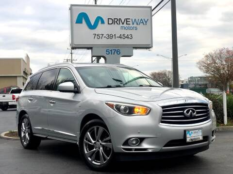 2015 Infiniti QX60 for sale at Driveway Motors in Virginia Beach VA