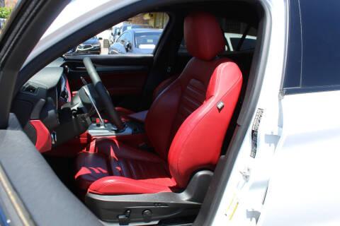 2019 Alfa Romeo Stelvio for sale at MIKEY AUTO INC in Hollis NY