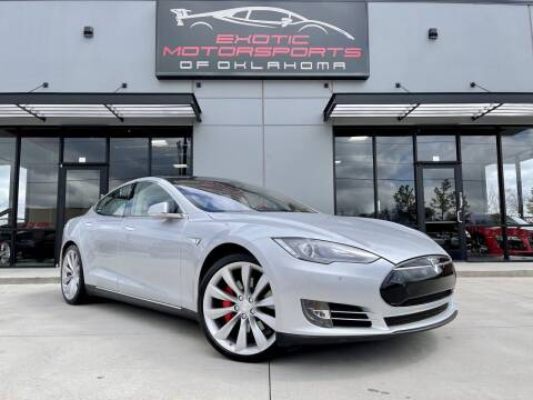 2014 Tesla Model S for sale at Exotic Motorsports of Oklahoma in Edmond OK