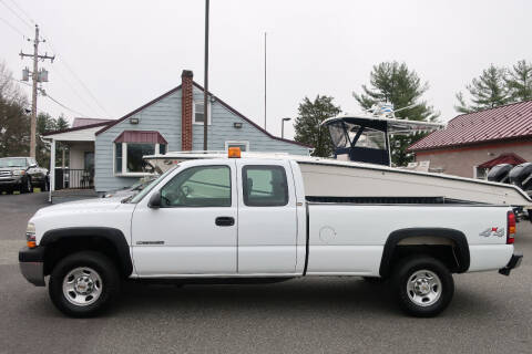 2002 Chevrolet Silverado 2500HD for sale at GEG Automotive in Gilbertsville PA