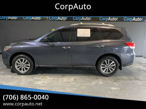 2013 Nissan Pathfinder for sale at CorpAuto in Cleveland GA