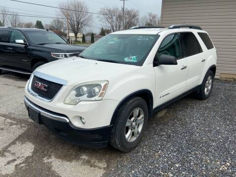 2008 GMC Acadia for sale at US5 Auto Sales in Shippensburg PA