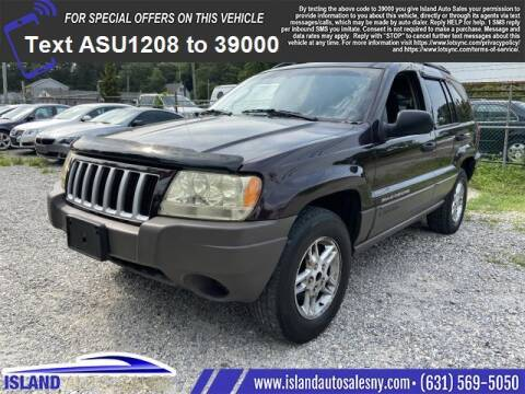 2004 Jeep Grand Cherokee for sale at Island Auto Sales in East Patchogue NY