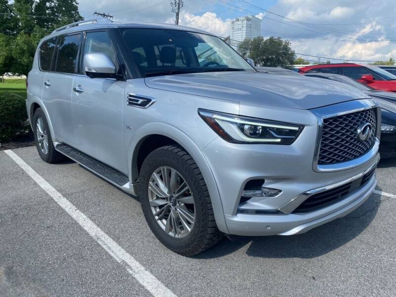 2018 Infiniti QX80 for sale at Coast to Coast Imports in Fishers IN