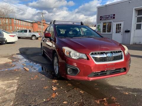 2012 Subaru Impreza for sale at Manchester Auto Sales in Manchester CT