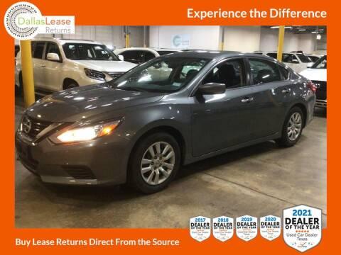 2018 Nissan Altima for sale at Dallas Auto Finance in Dallas TX