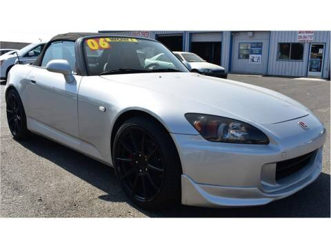 2006 Honda S2000 for sale at ATWATER AUTO WORLD in Atwater CA