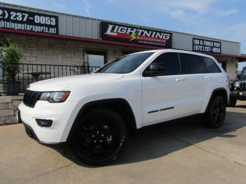 2019 Jeep Grand Cherokee for sale at Lightning Motorsports in Grand Prairie TX