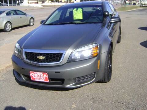 2013 Chevrolet Caprice for sale at Cheyka Motors in Schofield WI