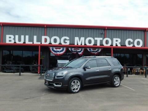 2015 GMC Acadia for sale at Bulldog Motor Company in Borger TX