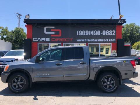 2014 Nissan Titan for sale at Cars Direct in Ontario CA