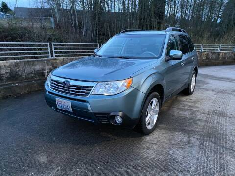 2009 Subaru Forester for sale at Zipstar Auto Sales in Lynnwood WA