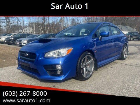 2015 Subaru WRX for sale at Sar Auto 1 in Belmont NH