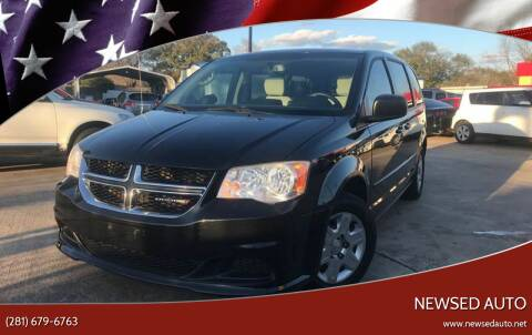 2013 Dodge Grand Caravan for sale at Newsed Auto in Houston TX