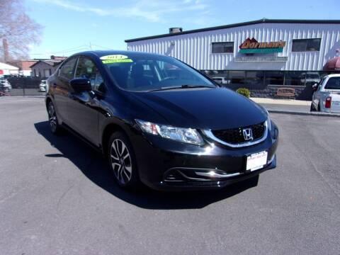 2014 Honda Civic for sale at Dorman's Auto Center inc. in Pawtucket RI
