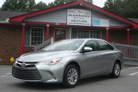 2017 Toyota Camry for sale at Peach State Motors Inc in Acworth GA