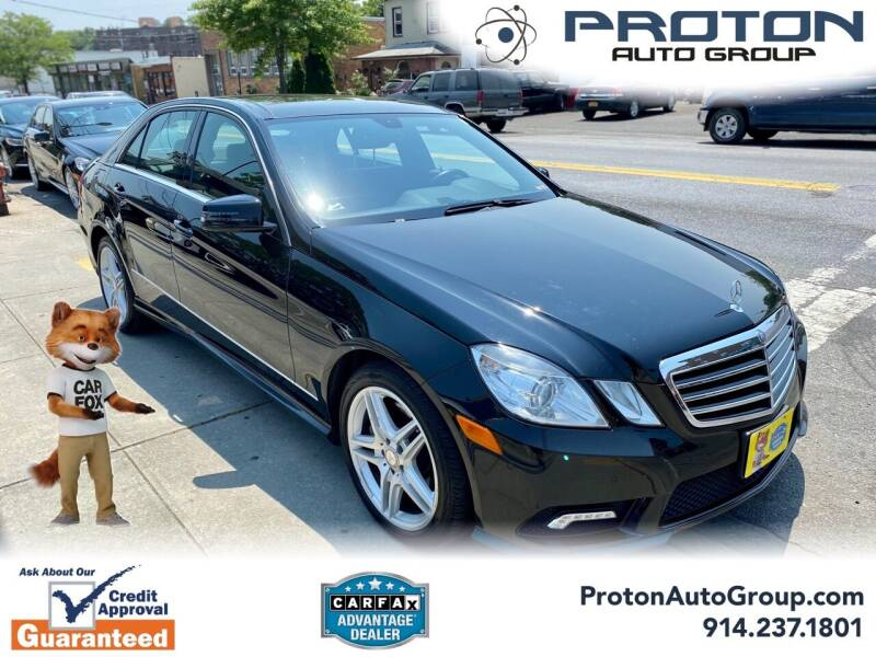 2011 Mercedes-Benz E-Class for sale at Proton Auto Group in Yonkers NY