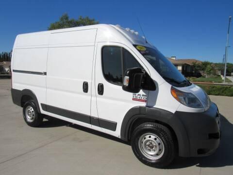 2017 RAM ProMaster Cargo for sale at Repeat Auto Sales Inc. in Manteca CA