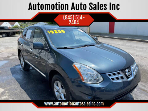 2013 Nissan Rogue for sale at Automotion Auto Sales Inc in Kingston NY