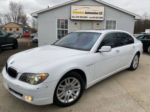 2008 BMW 7 Series for sale at COLUMBUS AUTOMOTIVE in Reynoldsburg OH