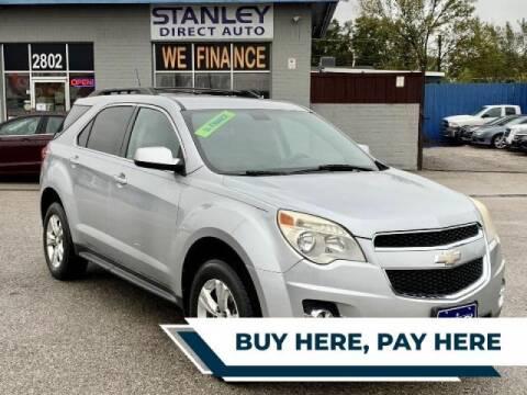 2011 Chevrolet Equinox for sale at Stanley Automotive Finance Enterprise - STANLEY CHRYSLER DODGE JEEP RAM GATESVILLE in Gatesville TX